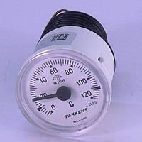 Термометр 0 120°С с выносным датчиком 1 м Ø40, Pakkens Турция