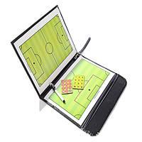 Тактическое построение команды пластинчатые книг установлены с преподавательским ручка клип Tactical складывающиеся магнитная доска шт футб