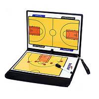 Складывающиеся магнитная часть доски тренер по баскетболу Tactical Тактическое построение команды пластинчатые книг установлены с преподава