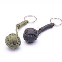 B039 Защита от обезьяны безопасности кулак стальной шарик подшипника самозащитой выживание строп ключевой цепи Blac