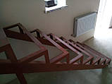 Каркас лестницы с поворотом 90 гр., фото 2
