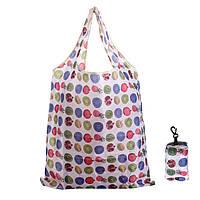 Случайный цвет сумка большая ручка многоразового эко складной сумки несущей сумки пляж тренажерный зал плавание