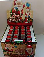 """Шоколадный """"Санта с сюрпризом"""" 24шт 38гр"""