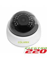 POE IP камера внутренняя варифокальная COLARIX CAM-IIV-001p 2Мп, f3.6-12мм.