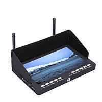 Skyzone RC708 5.8G 40CH Auto Search Diversity RX 7 дюймов Монитор с HD порт Видеорегистратор Ppm для RC Дрон
