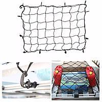 12 крюк универсальный автомобиль для хранения багажник грузового багажа эластичная сетка сетка держатель 120x90cm