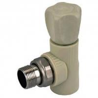 Вентиль радиаторный угловой 25-3/4 PPR Koer