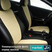 Чехлы на сиденья Mercedes Vito из Экокожи (AVto-AMbition), передние (1+2)