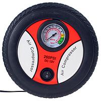 Портативный электрический Mini 12v воздушный компрессор насос инфлятора шины для легковых автомобилей шины