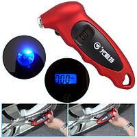 ЖК-цифровой измерительный инструмент манометр давления воздуха в шинах шины для автомобиля мотоцикла грузовик