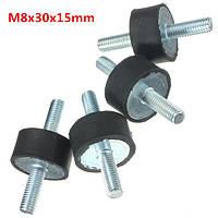 4 шт М8 30mmx15mm резиновые опоры амортизатора виброизолятором опоры
