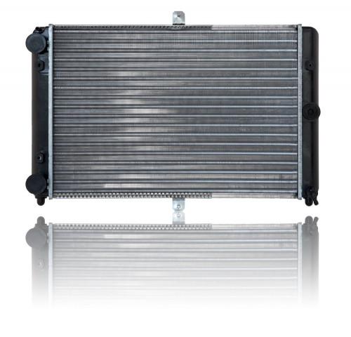Радиатор охлаждения ВАЗ 2108 основной, цельно-паяный (спорт), Лузар