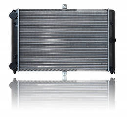 Радіатор охолодження ВАЗ 2108 основний, цільно-паяний (спорт), Лузар
