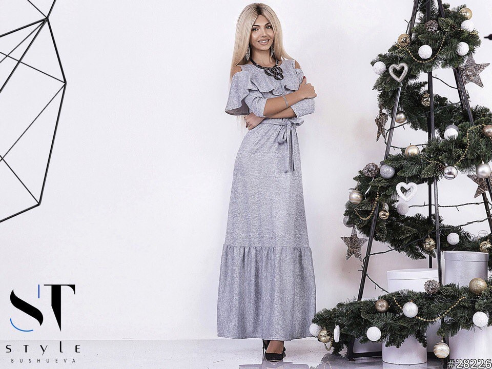 80d7a12ab0f Праздничное платье с люрексом