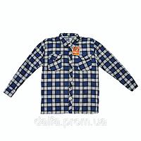 Мужские байковые рубашки A23 оптом недорого со склада в Одессе (7км).