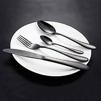 KCASA™ из нержавеющей стали черного золота приборы посуда столовые приборы вилка ножа и ложки Посуда множество