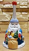 Фарфоровый колокольчик Дед Мороз  - Киевфарфор - супер подарок к Новому Году 2018!