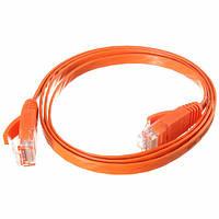 Плоский кот-6 локальных сетей Интернет сети LAN патч-кабель провод для ПК маршрутизатора RJ45 1m