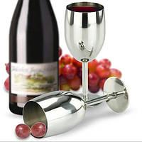 Вино из нержавеющей стали стеклянная чашка бокал бокал для шампанского