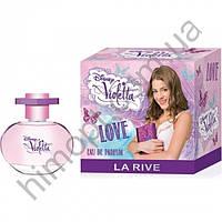 Детская парфюмированная вода La Rive Violetta Love 50 мл (Ла Рив)
