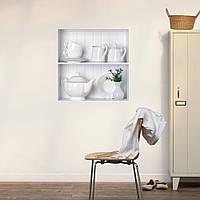 Чайный набор 3d езда решетки наклейки для стен PAG съемную искусства стены наклейки сетки домашнего декора подарок