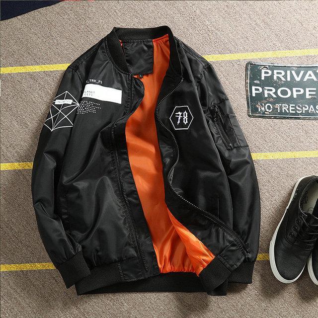 Демисезонная куртка мужская, бомбер, парка