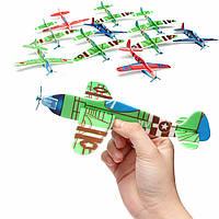 10pcs летающие планера самолетов подарок на день рождения мешок рождества партии Наполнитель