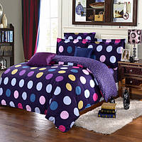 3 или 4шт полиэфирные волокна наборы дот краска печати постельные принадлежности наволочка одеяло пододеяльник
