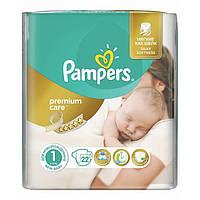 Подгузники Pampers Premium Care 1 (2-5 кг) 22 шт