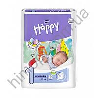 Подгузники детские Bella Baby Happy Newborn 2-5 кг 42 шт (Белла Беби Хеппи Ньюборн)