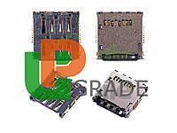 Разъем Sim-карты и карты памяти для Sony C5502 Xperia ZR M36h/C5503 M36i/LT25i Xperia V
