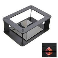 DIY Голографический 3D Дисплей Cabint Проектор Коробка для Samsung iPhone HTC Смартфон