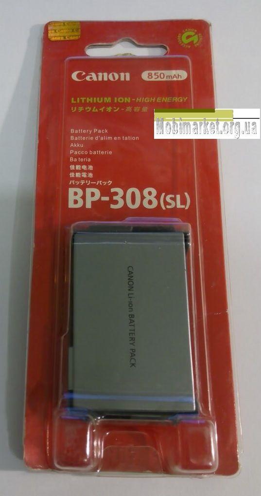 Аккумуляторная батарея CANON BP-308 (SL)