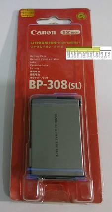 Акумуляторна батарея CANON BP-308(SL), фото 2