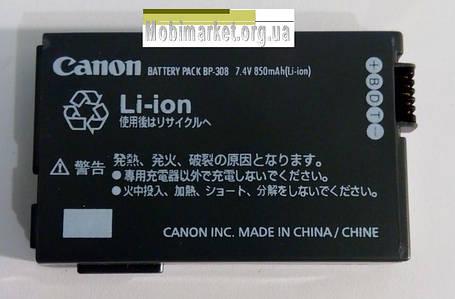 Аккумуляторная батарея CANON BP-308 (SL), фото 2