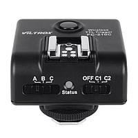 Беспроводной e-ttl вспышки триггера приемопередатчика FC210C 7d 60d 5d eos камеры Canon viltrox II Марк 5d
