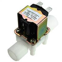 Электрический электромагнитный клапан AC220V 0.02-0.8Mpa 1/2 дюйма впускной клапан нормально закрытый