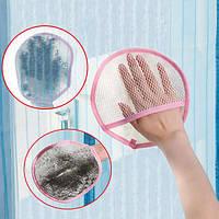 Экран окна чистой тканью автомобиля окна мыть mitt сетка занавес mop wipe
