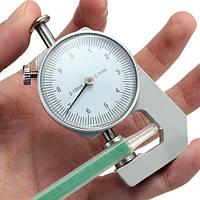 Толщиномер тестер мера Leathercraft инструмент 0-10mm папиросной бумаги плоские