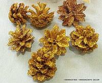 Шишка натуральная (gold)