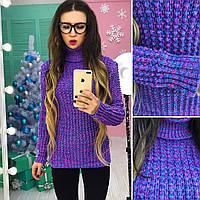 Вязаный свитер женский, разные цвета