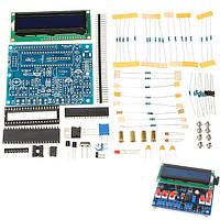 DIY Многофункциональный LCD1602 SecOhmmeter Емкостной измеритель частоты индуктивности измеритель Набор