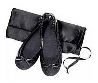 Женские туфли-балетки Хайди с сумочкой, чешки, размер 37-38, цвет черный, Avon, Эйвон, 50972