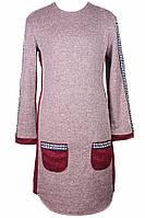"""Модное утепленное платье для девочки подростка """"Найс"""""""