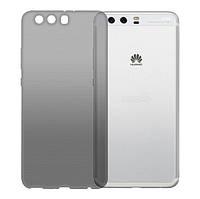 Чехол GlobalCase (TPU) Extra Slim для Huawei P10 Plus (Dark) (1283126476778)