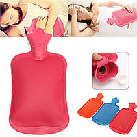 Резиновые бутылку с горячей водой зимой мешок руки грелки терапия теплый домашний офис