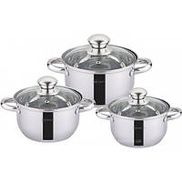Набор посуды 6пр (16/18/20см(1,9;2,5:3,5л) Rainstahl RS 1645-06