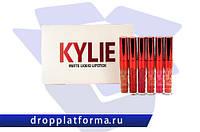 Набор матовых жидких помад Kylie Valentine Edition (6 штук)
