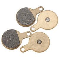 2 пары велосипед дисковые тормозные колодки керамические спекание полу металла Tektro iox
