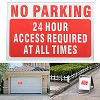 15x10 см водонепроницаемый винил переводная картинка не наклейка нет парковки предупреждающий знак шаблонов слов